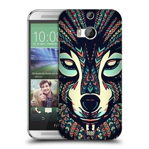 Plastové pouzdro na mobil HTC ONE M8 HEAD CASE AZTEC VLK