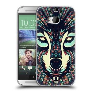 Silikonové pouzdro na mobil HTC ONE M8 HEAD CASE AZTEC VLK
