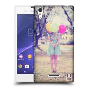 Plastové pouzdro na mobil Sony Xperia T3 D5103 HEAD CASE BALON HOLKA