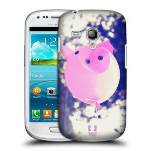 Plastové pouzdro na mobil Samsung Galaxy S III Mini HEAD CASE BALON PAŠÍK