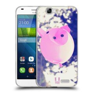 Silikonové pouzdro na mobil Huawei Ascend G7 HEAD CASE BALON PAŠÍK