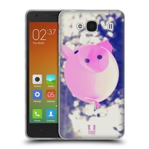 Silikonové pouzdro na mobil Xiaomi Redmi 2 HEAD CASE BALON PAŠÍK