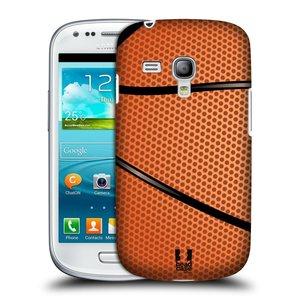 Plastové pouzdro na mobil Samsung Galaxy S3 Mini VE HEAD CASE BASKEŤÁK