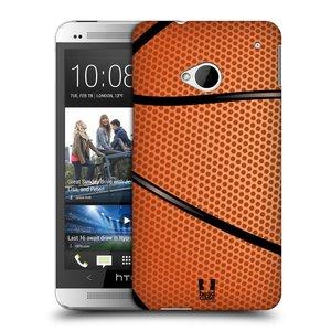 Plastové pouzdro na mobil HTC ONE M7 HEAD CASE BASKEŤÁK