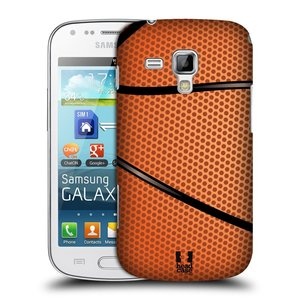 Plastové pouzdro na mobil Samsung Galaxy Trend HEAD CASE BASKEŤÁK