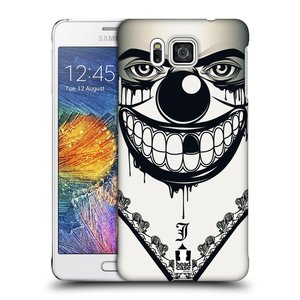 Plastové pouzdro na mobil Samsung Galaxy Alpha HEAD CASE ZLEJ KLAUN
