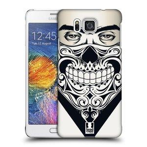 Plastové pouzdro na mobil Samsung Galaxy Alpha HEAD CASE LEBKA BANDANA