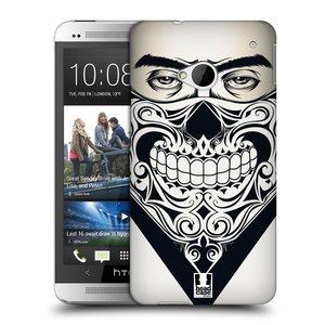 Plastové pouzdro na mobil HTC ONE M7 HEAD CASE LEBKA BANDANA