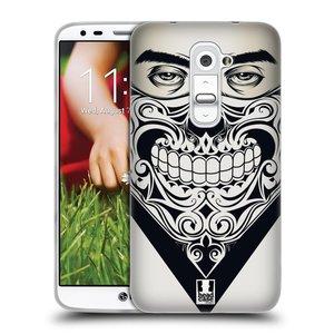 Silikonové pouzdro na mobil LG G2 HEAD CASE LEBKA BANDANA