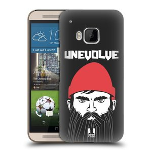 Plastové pouzdro na mobil HTC ONE M9 HEAD CASE KNÍRAČ UNEVOLVE
