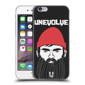 Silikonové pouzdro na mobil Apple iPhone 6 a 6S HEAD CASE KNÍRAČ UNEVOLVE