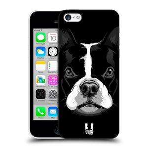 Plastové pouzdro na mobil Apple iPhone 5C HEAD CASE ILUSTROVANÝ BULDOČEK