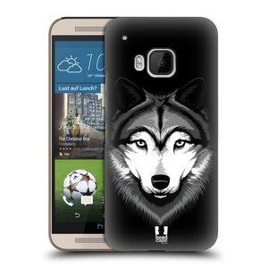 Plastové pouzdro na mobil HTC ONE M9 HEAD CASE ILUSTROVANÝ VLK