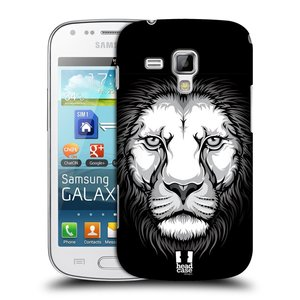 Plastové pouzdro na mobil Samsung Galaxy Trend Plus HEAD CASE ILUSTROVANÝ LEV