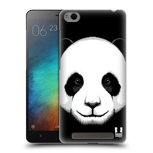 Plastové pouzdro na mobil Xiaomi Redmi 3 HEAD CASE ILUSTROVANÁ PANDA