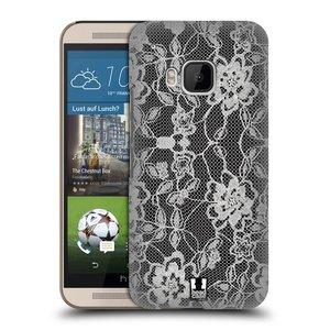 Plastové pouzdro na mobil HTC ONE M9 HEAD CASE FLOWERY KRAJKA