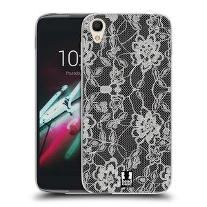 Silikonové pouzdro na mobil Alcatel One Touch 6039Y Idol 3 HEAD CASE FLOWERY KRAJKA