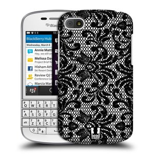 Plastové pouzdro na mobil Blackberry Q10 HEAD CASE KRAJKA