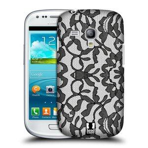 Plastové pouzdro na mobil Samsung Galaxy S3 Mini VE HEAD CASE LEAFY KRAJKA