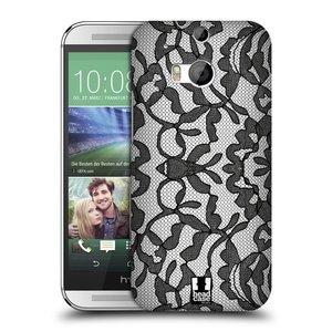 Plastové pouzdro na mobil HTC ONE M8 HEAD CASE LEAFY KRAJKA