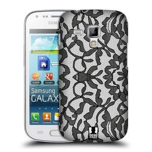 Plastové pouzdro na mobil Samsung Galaxy S Duos HEAD CASE LEAFY KRAJKA