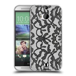 Silikonové pouzdro na mobil HTC ONE M8 HEAD CASE LEAFY KRAJKA