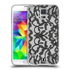 Silikonové pouzdro na mobil Samsung Galaxy S5 HEAD CASE LEAFY KRAJKA