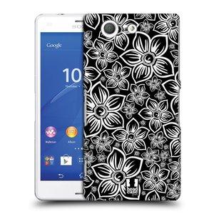 Plastové pouzdro na mobil Sony Xperia Z3 Compact D5803 HEAD CASE FLORAL DAISY