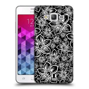 Plastové pouzdro na mobil Samsung Galaxy Grand Prime HEAD CASE FLORAL DAISY
