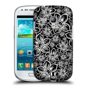 Plastové pouzdro na mobil Samsung Galaxy S3 Mini VE HEAD CASE FLORAL DAISY