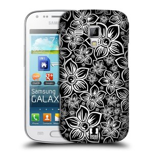 Plastové pouzdro na mobil Samsung Galaxy S Duos 2 HEAD CASE FLORAL DAISY