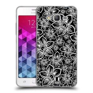 Silikonové pouzdro na mobil Samsung Galaxy Grand Prime HEAD CASE FLORAL DAISY