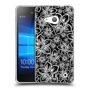 Silikonové pouzdro na mobil Microsoft Lumia 550 HEAD CASE FLORAL DAISY