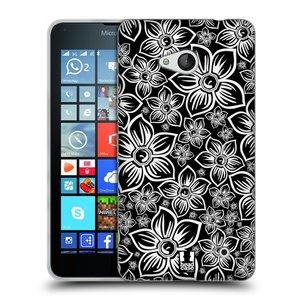 Silikonové pouzdro na mobil Microsoft Lumia 640 HEAD CASE FLORAL DAISY