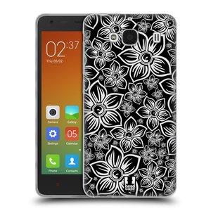 Silikonové pouzdro na mobil Xiaomi Redmi 2 HEAD CASE FLORAL DAISY