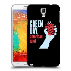 Plastové pouzdro na mobil Samsung Galaxy Note 3 Neo HEAD CASE Green Day - American Idiot