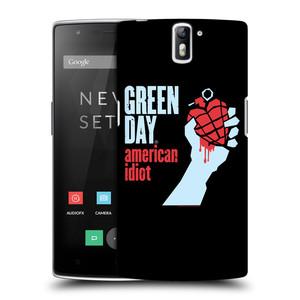 Plastové pouzdro na mobil OnePlus One HEAD CASE Green Day - American Idiot