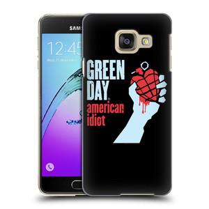 Plastové pouzdro na mobil Samsung Galaxy A3 (2016) HEAD CASE Green Day - American Idiot