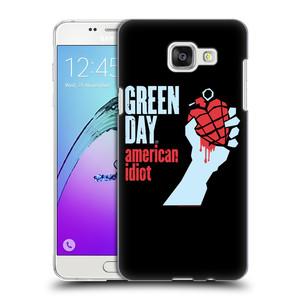 Plastové pouzdro na mobil Samsung Galaxy A5 (2016) HEAD CASE Green Day - American Idiot