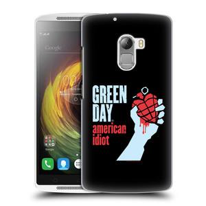 Plastové pouzdro na mobil Lenovo A7010 HEAD CASE Green Day - American Idiot