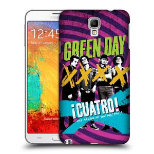 Plastové pouzdro na mobil Samsung Galaxy Note 3 Neo HEAD CASE Green Day - Cuatro