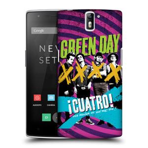 Plastové pouzdro na mobil OnePlus One HEAD CASE Green Day - Cuatro