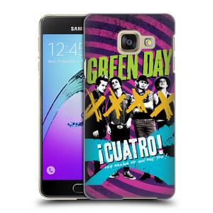 Plastové pouzdro na mobil Samsung Galaxy A3 (2016) HEAD CASE Green Day - Cuatro