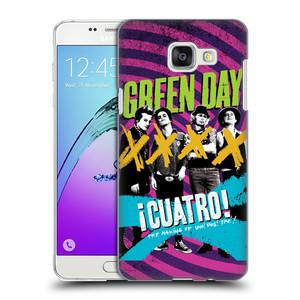 Plastové pouzdro na mobil Samsung Galaxy A5 (2016) HEAD CASE Green Day - Cuatro