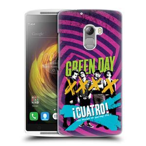 Plastové pouzdro na mobil Lenovo A7010 HEAD CASE Green Day - Cuatro
