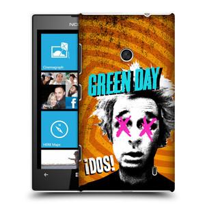Plastové pouzdro na mobil Nokia Lumia 520 HEAD CASE Green Day - Dos