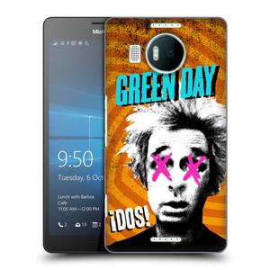 Plastové pouzdro na mobil Microsoft Lumia 950 XL HEAD CASE Green Day - Dos