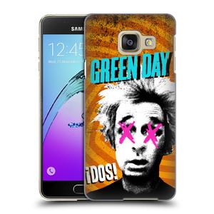 Plastové pouzdro na mobil Samsung Galaxy A3 (2016) HEAD CASE Green Day - Dos