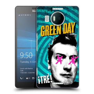 Plastové pouzdro na mobil Microsoft Lumia 950 XL HEAD CASE Green Day - Tré