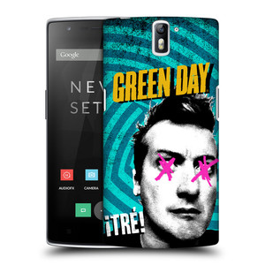 Plastové pouzdro na mobil OnePlus One HEAD CASE Green Day - Tré